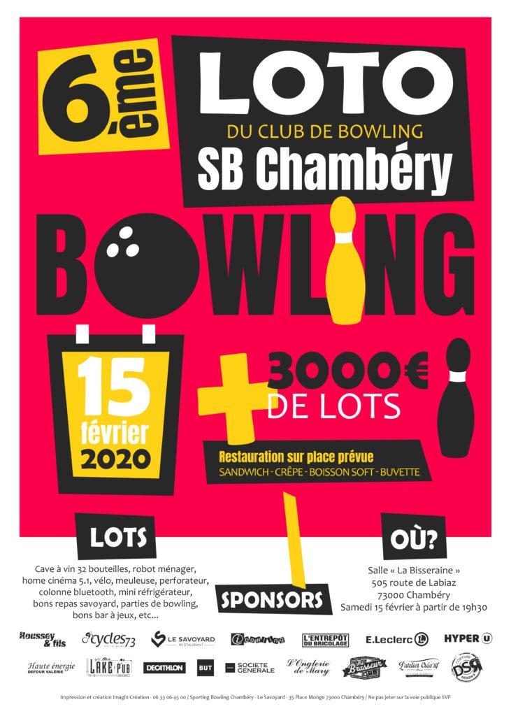 Loto Chambéry Février 2020 Sporting Bowl Chambéry Savoie